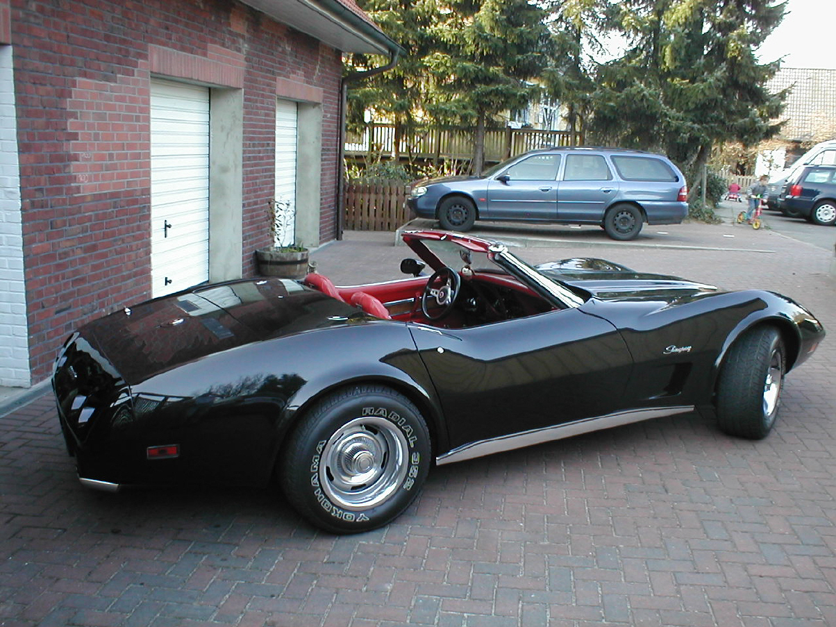 mein corvette stingray cabrio. Black Bedroom Furniture Sets. Home Design Ideas